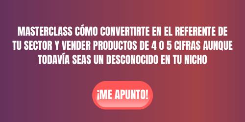 masterclass cómo vender productos de 4 o 5 cifras